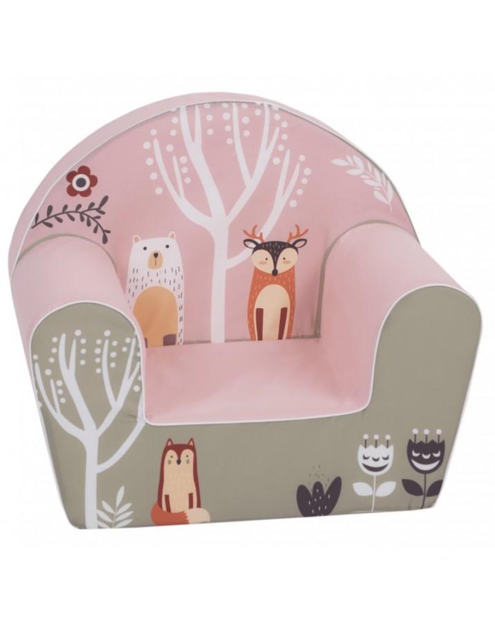 """Vaikiškas foteliukas """"Miško gyventojai"""""""