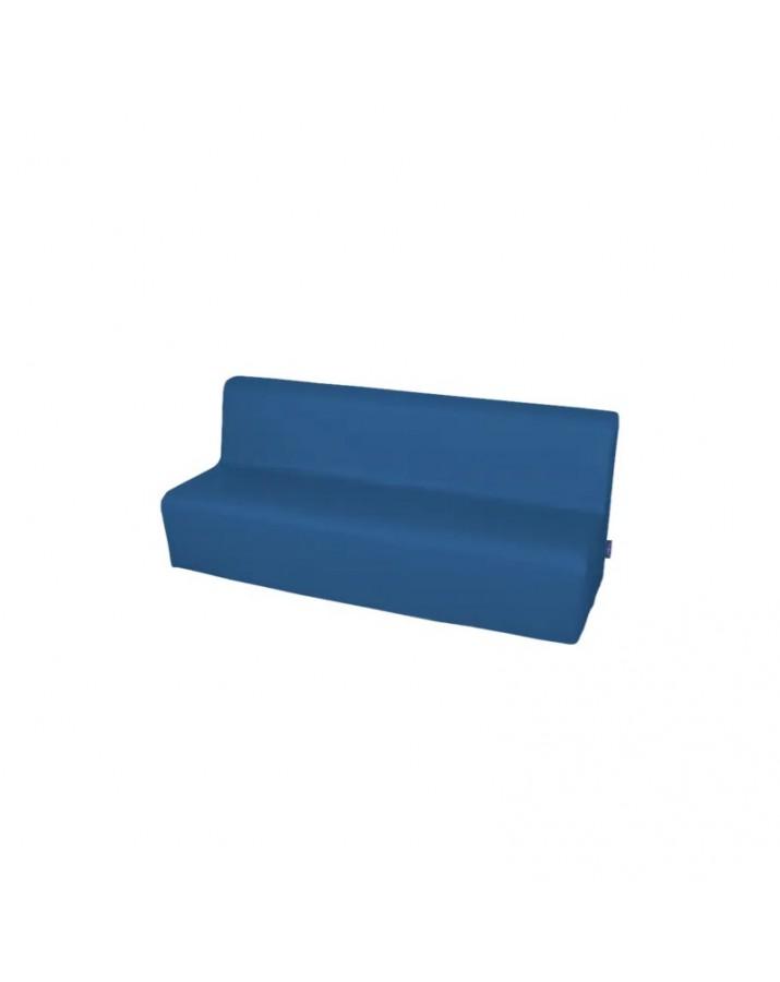Minkšta trivietė sofa su PVC danga