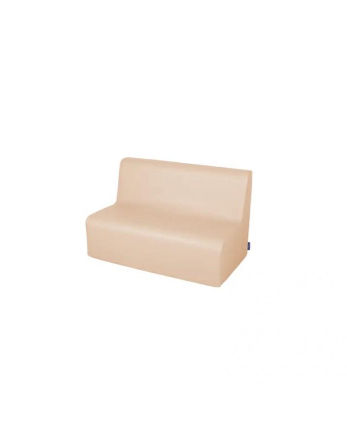 Minkšta sofa su PVC danga