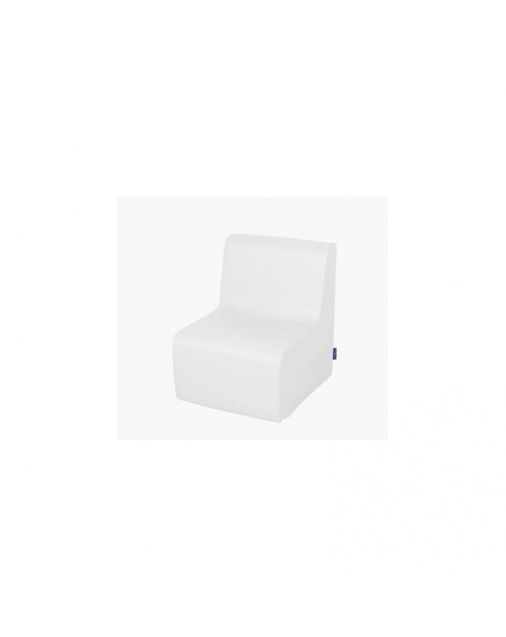 Minkštas vaikiškas fotelis su PVC danga