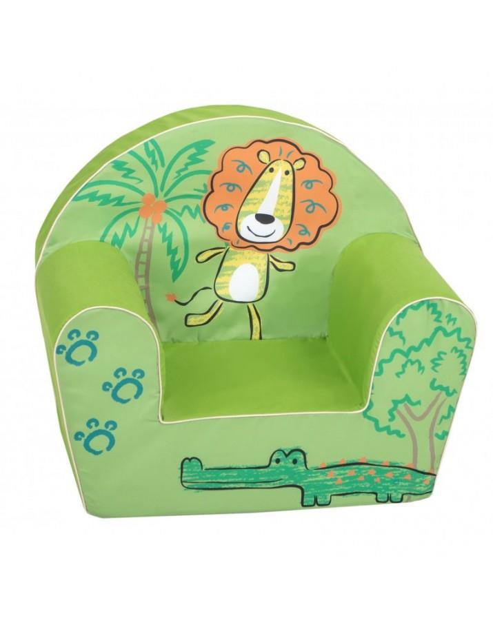 """Žalias foteliukas - """"Pasiklydęs liūtas"""""""