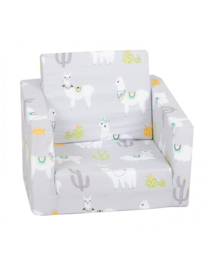 """Pilkas foteliukas - """".."""
