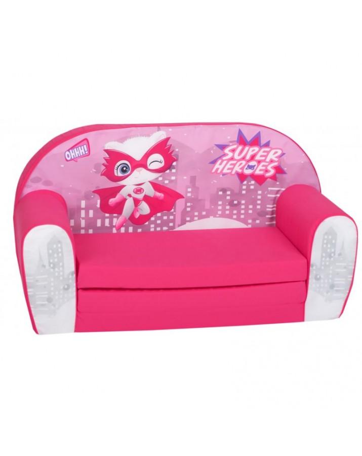 "Rožinė sofa - ""Super.."