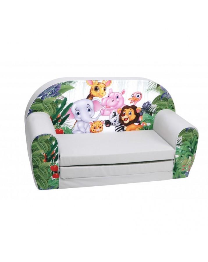 Vaikiška pilka sofa - &qu..