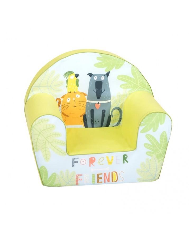 "Žalsvas foteliukas - ""Friends Forever"""