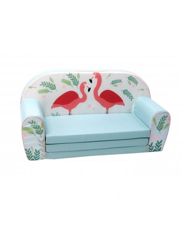 Žydra vaikiška sofa - &qu..