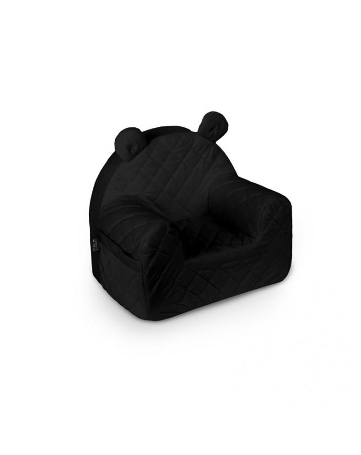 Juodo aksomo foteliukas &..
