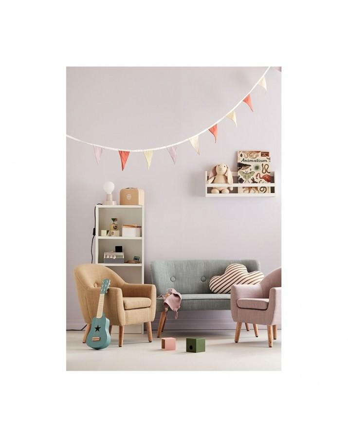 Stilingas vaikiškas foteliukas (rusvas)