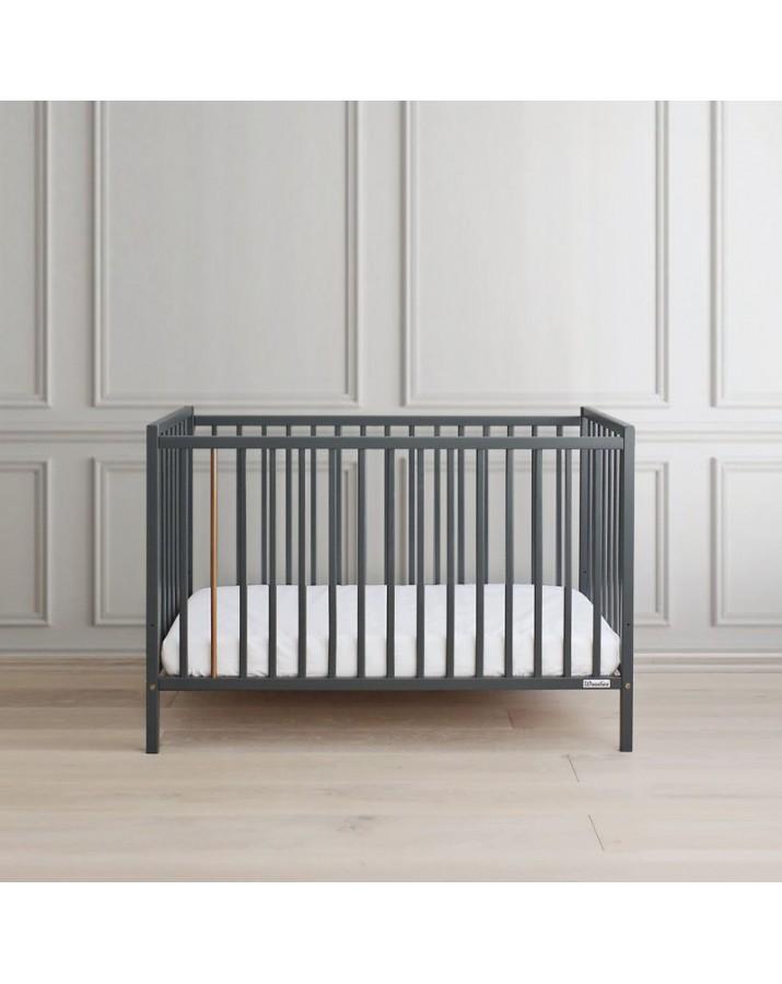 """Tamsiai pilka kūdikių lovelė - """"Craft"""""""