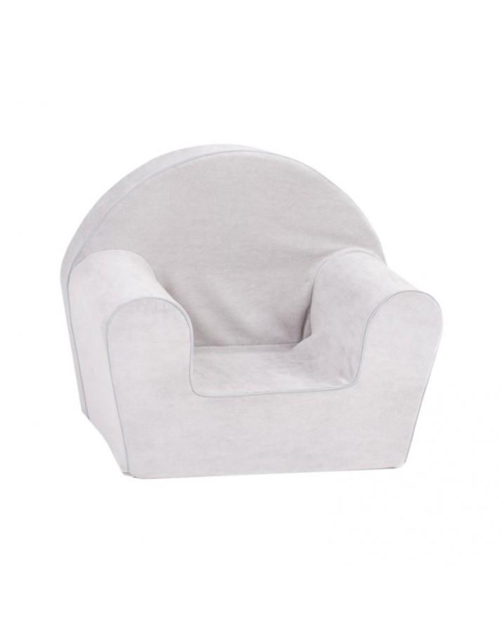 """Pilkas foteliukas su šereliais """"Fresh"""""""