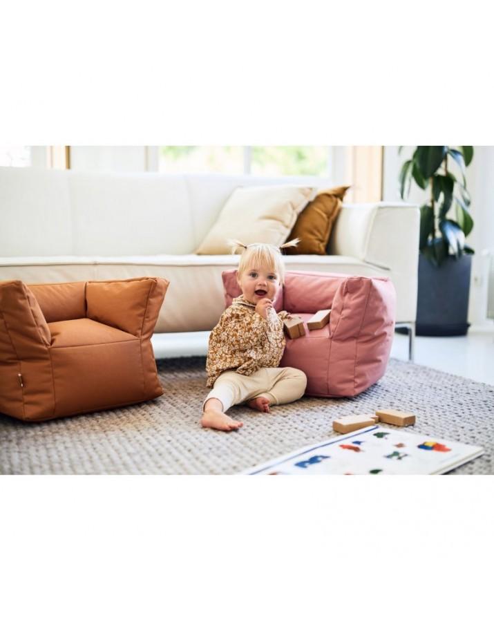 Vaikiškas rausvas sėdmaišis