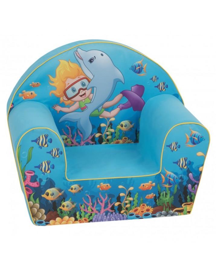 Vaikiškas foteliukas Aqua