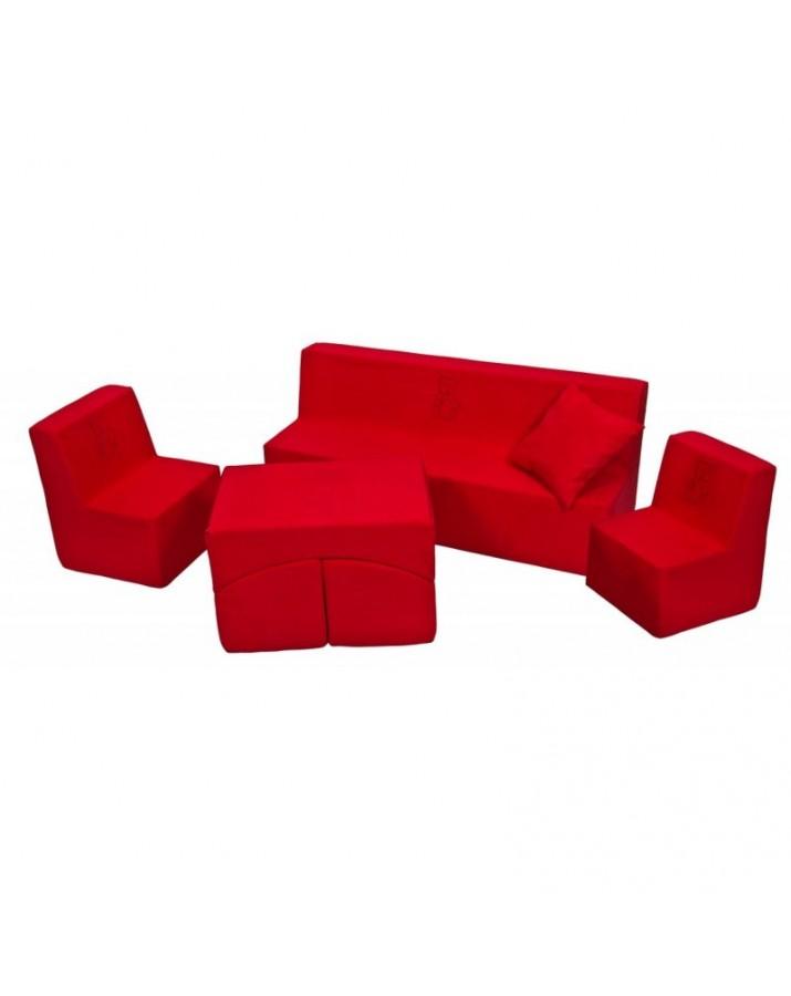 Minkštų baldų komplektas Teddy Bear
