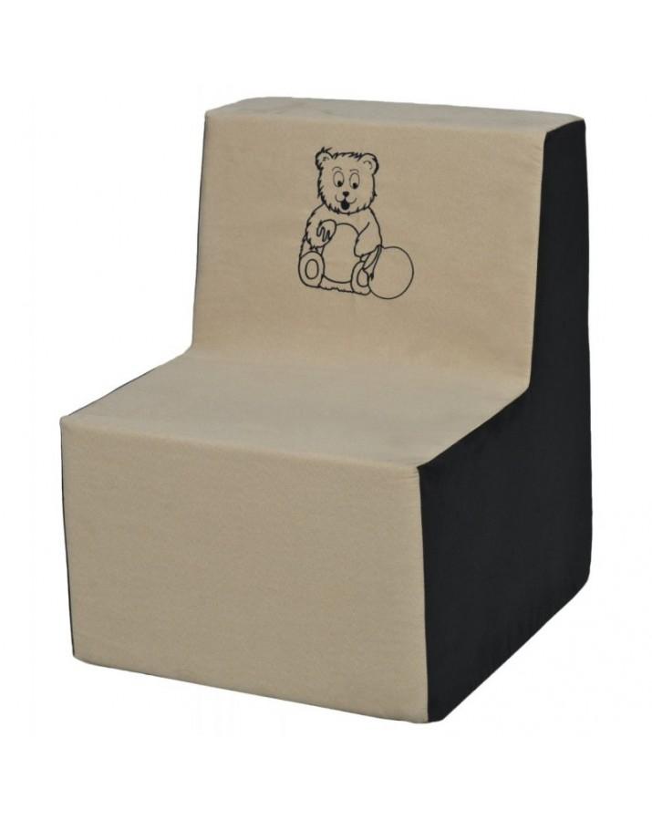 Minkštas fotelis vaikams Teddy Bear