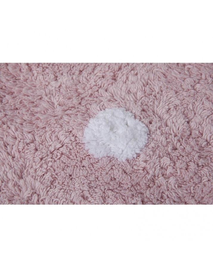 Vaikiškas skalbiamas kilimas Rožinis Sausainiukas