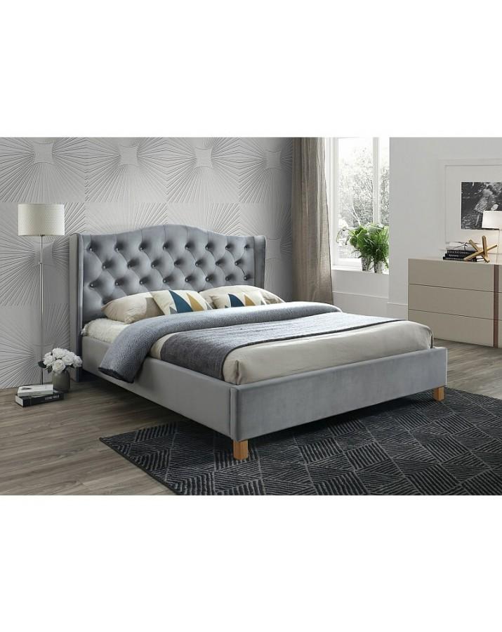 Dvigulė lova Aspen Velvet