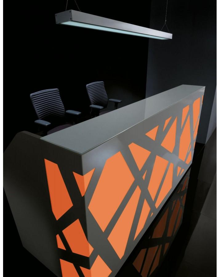 Registratūros stalas MDD Zig-Zag