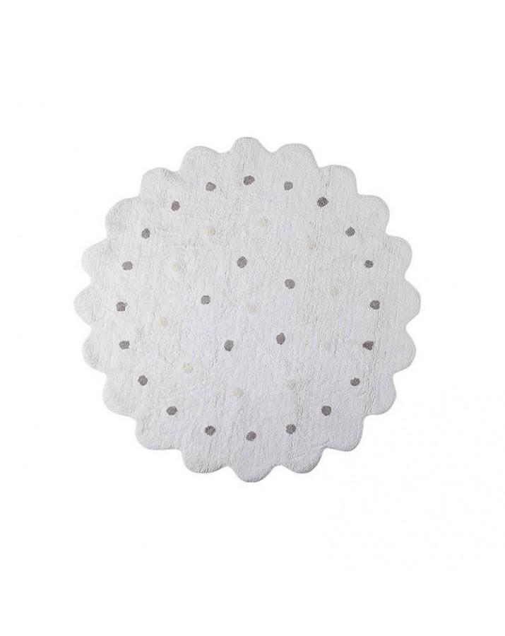 Baltas skalbiamas kilimas..