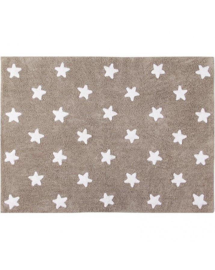 Rudas skalbiamas kilimas Žvaigždutės