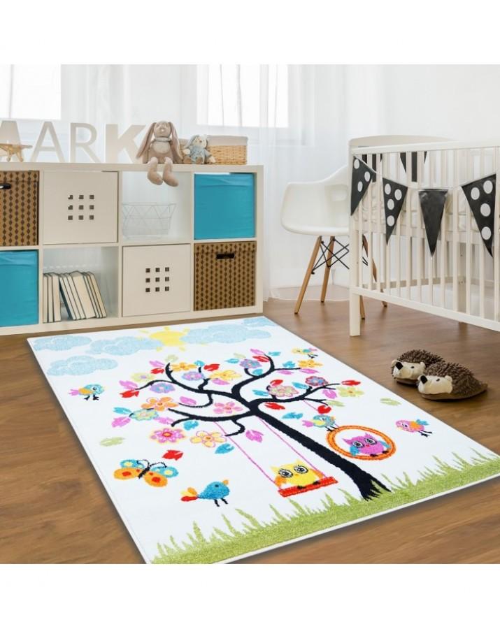 Kilimas vaikų kambariui Spalvingas medis