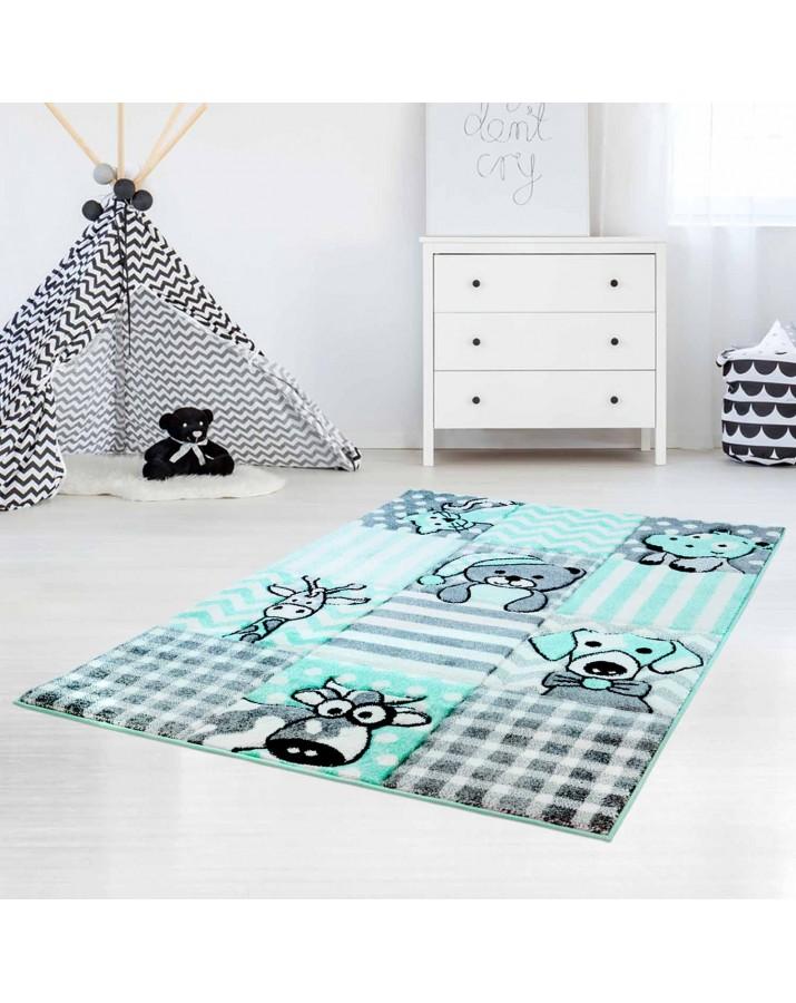Mėtinis kilimas Gyvūnėliai