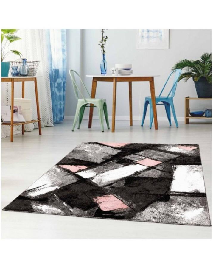 """Rožinių fragmentų kilimas - """"Moda Soft"""""""