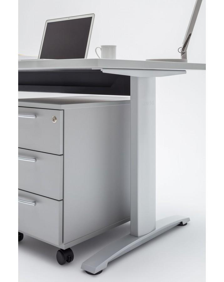 Darbo stalas lenktais kra..