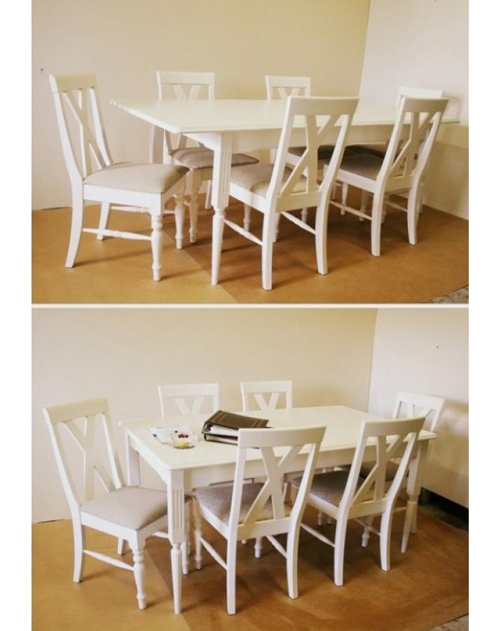 Išskleidžiamas valgomojo stalas Riviera