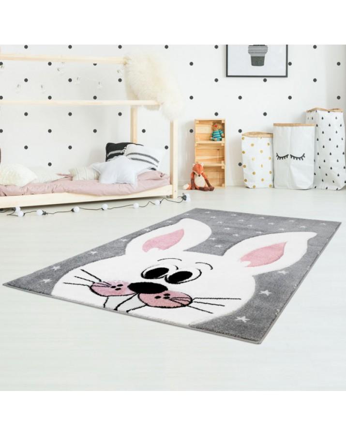 Pilkas kilimas vaikų kamb..