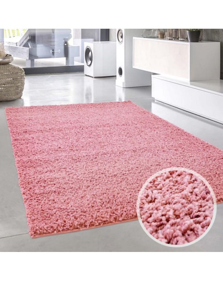 Rožinis minkštas kilimas ..