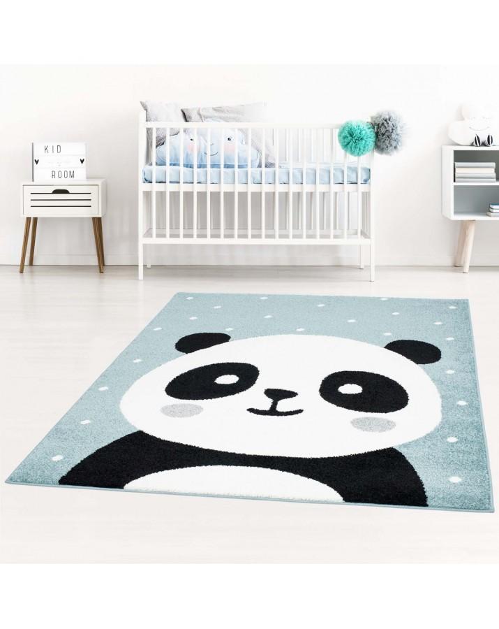 """Melsvas kilimas """"Panda"""""""