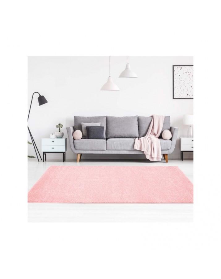 Šviesiai rožinis kilimas