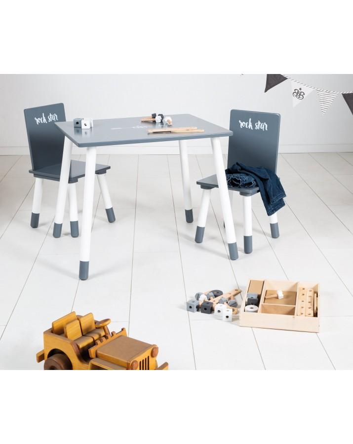 Staliuko ir kėdučių kompl..