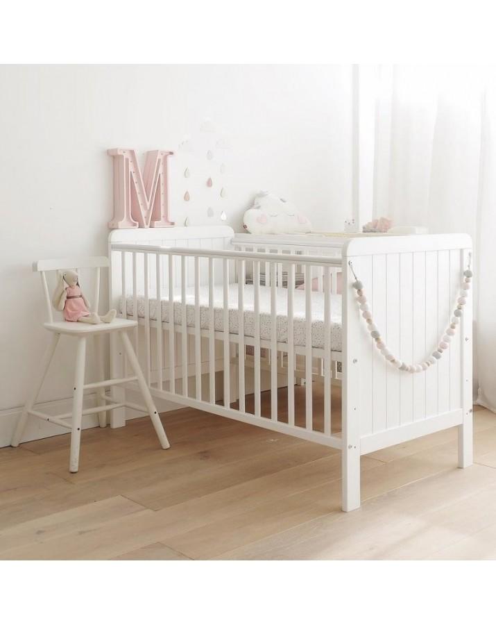 Balta kūdikių lova - &quo..