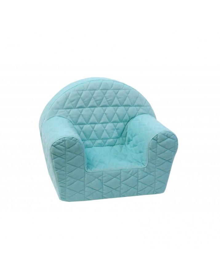 Mėtinis vaikiškas foteliukas