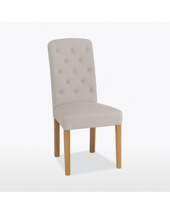 Lamont odinė kėdė Button