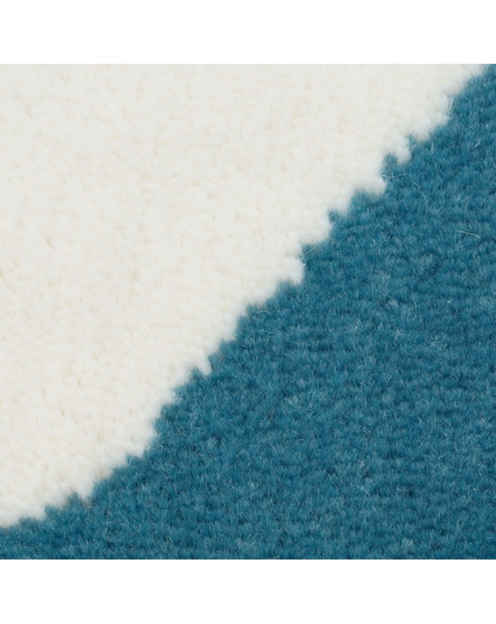 Mėlynas kilimas su žvaigž..