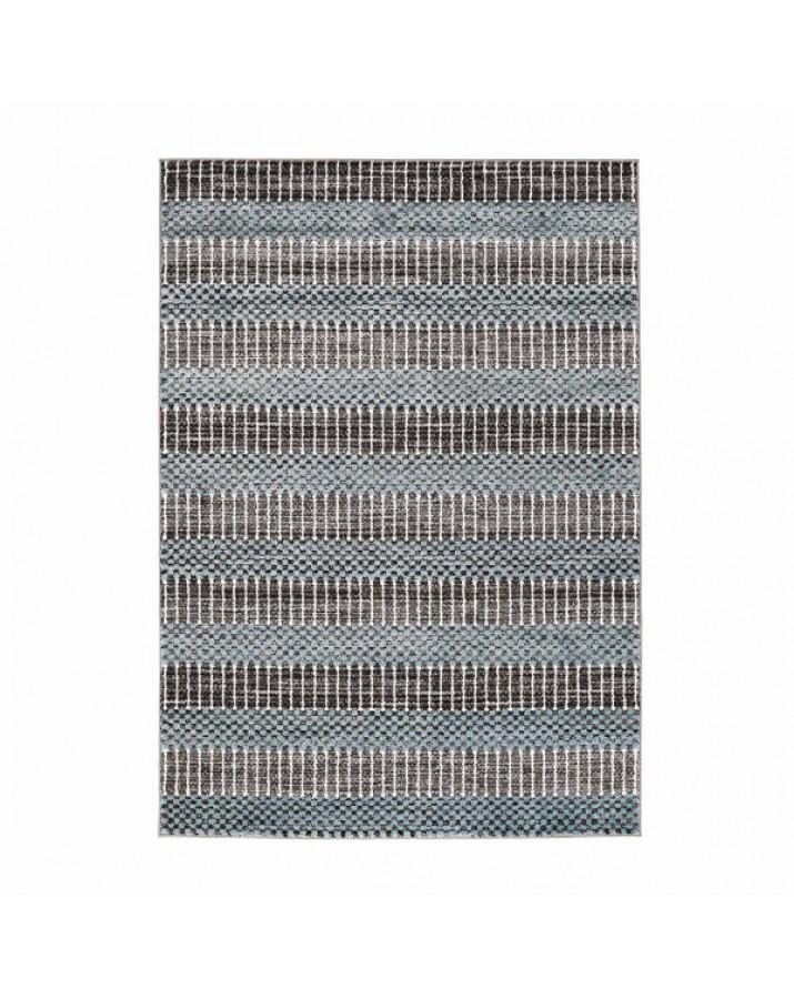 Modernus mėlyno atspalvio kilimas