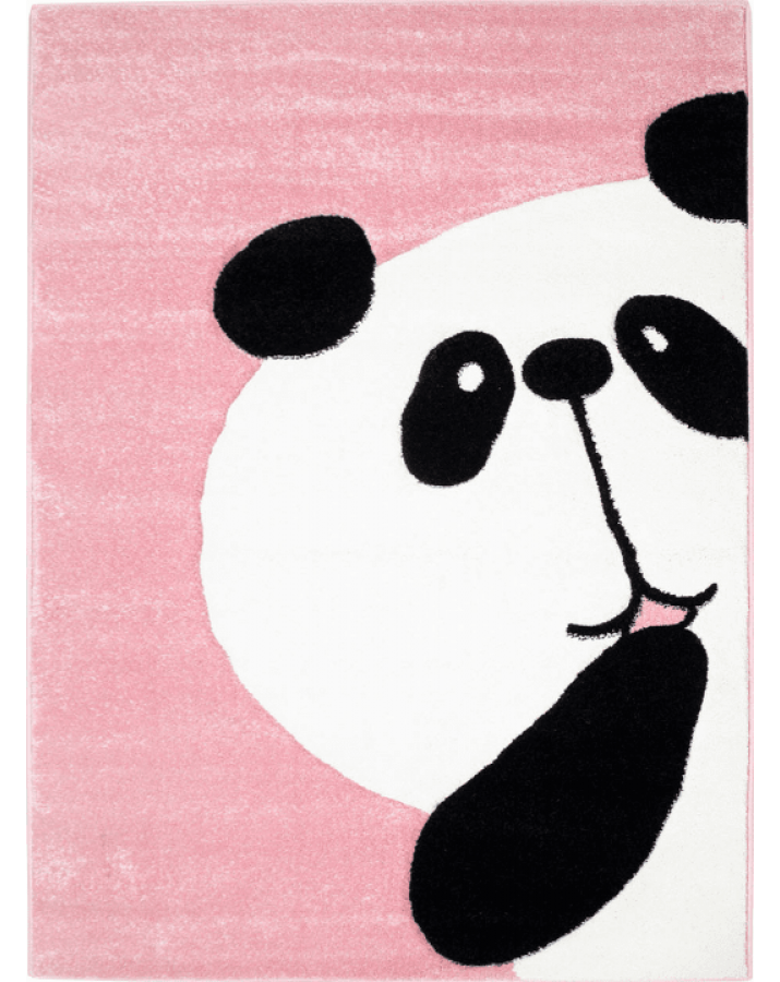 """Rožinis kilimas """"Didelė panda"""""""