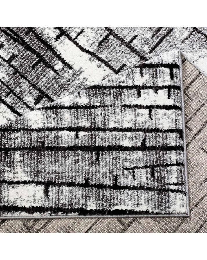 """Unikalaus dizaino kilimas - """"Juodos lazdelės"""""""