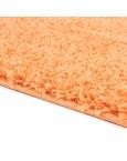 Švelnus oranžinis kilimas Shaggy Uni