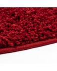 Švelnus raudonas kilimas Shaggy Uni