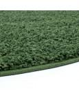 Švelnus žalias kilimas Shaggy Uni