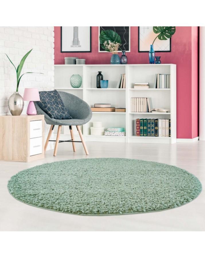 """Žalias minkštas kilimas """"Shaggy"""""""