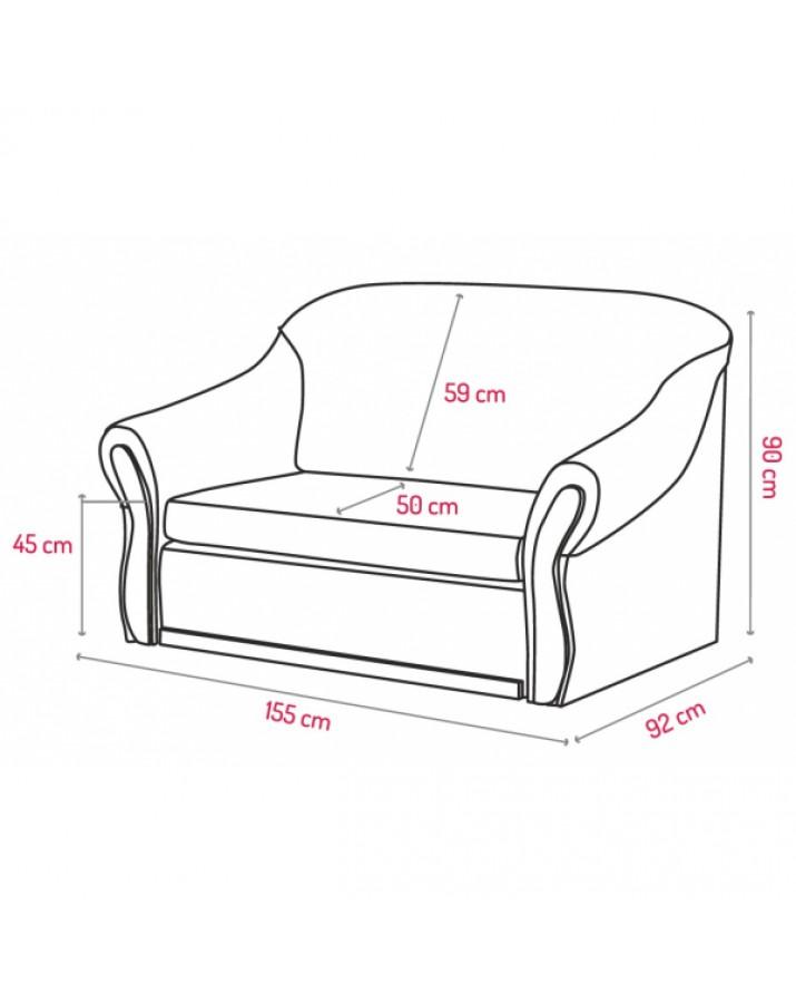 "Dvivietė sofa ""Saman.."