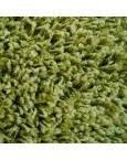 Švelnus žalias kilimas Shaggy Fine
