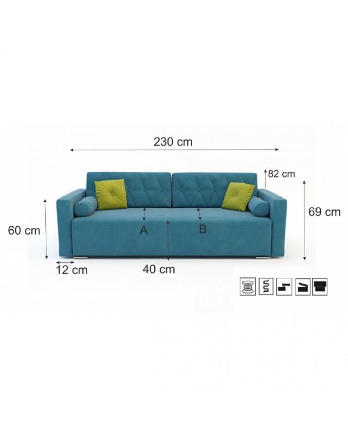Sofa-lova Arabella