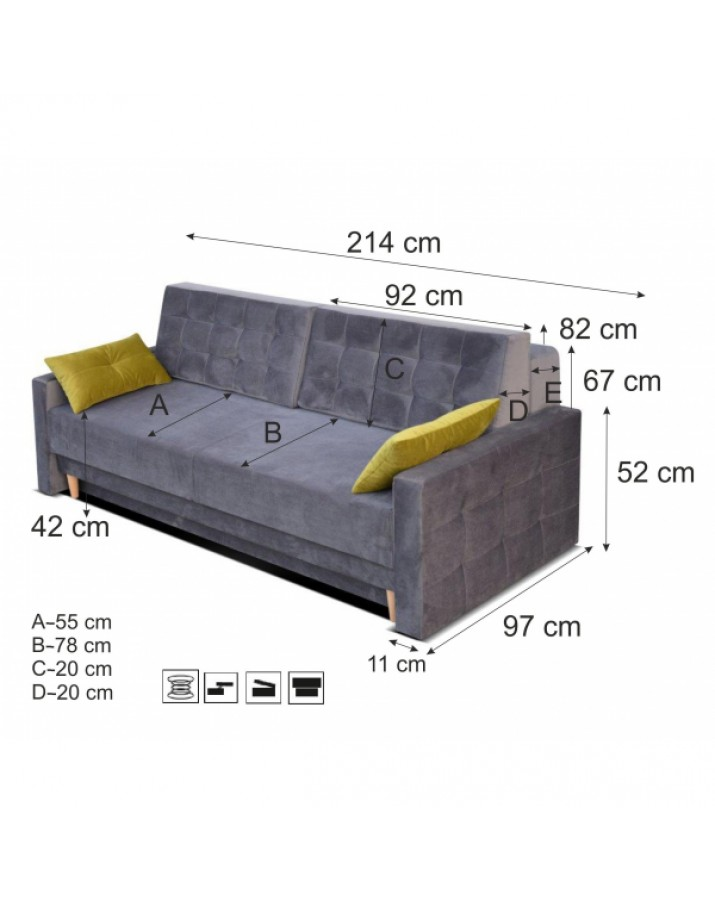 Sofa-lova Alexis