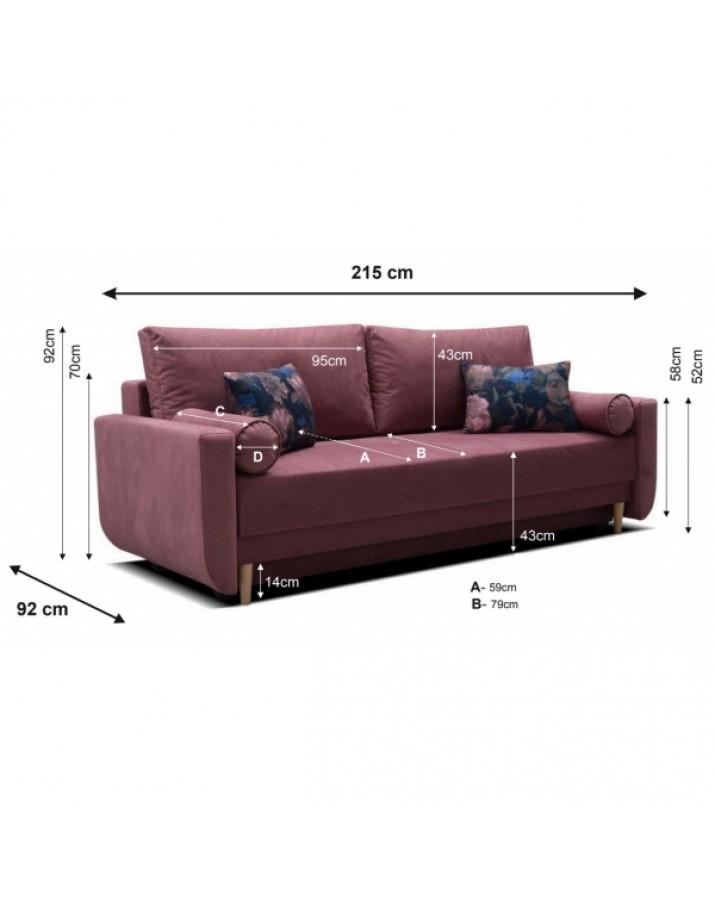 Sofa-lova Lucia